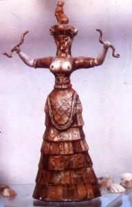 Cretan Snake Priestess